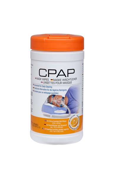 CPAP Mask Wipes Citrus